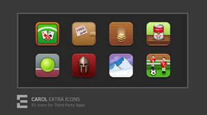 CAROL Extra Icons by kawsone
