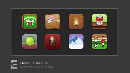 CAROL Extra Icons