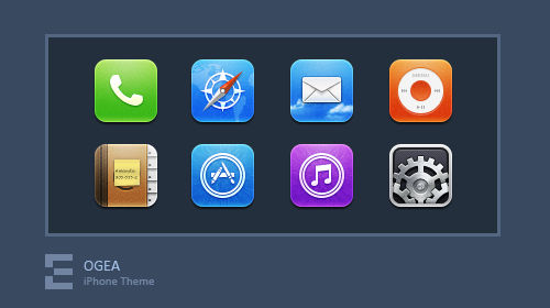 iPhone Theme - Ogea