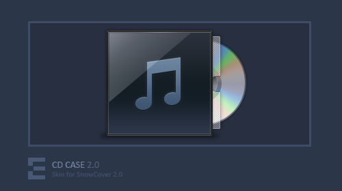CD Case SnowCover Skin 2.0