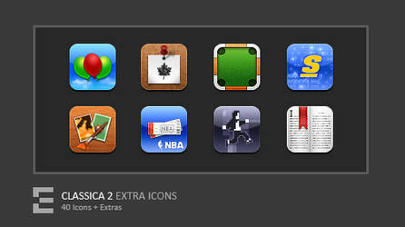 Classica 2 Extra Icons