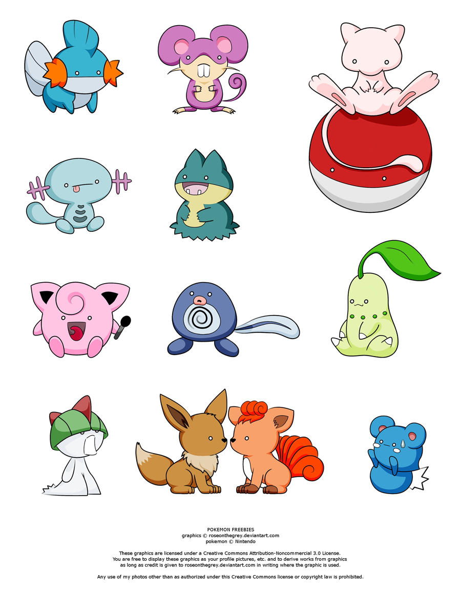 POKEMON FREEBIES