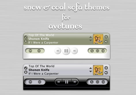 Snow and Coal for AveTunes.