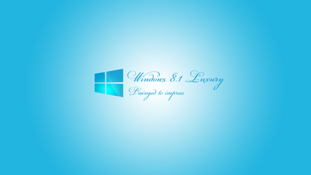 Windows 8.1 Luxury Wallpaper