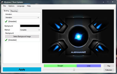 Alienware Bootscreen for Windows 7
