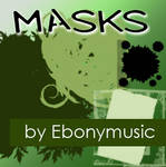 Masks for collages and photos