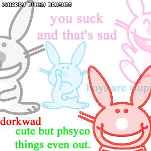 -:'s Happy Bunny:- by x-kleo