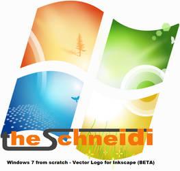 Win7 logo from scratch BETA by theschneidi