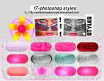 photoshop styles v1