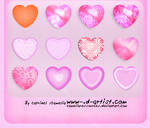 Pink photoshop layer styles 1