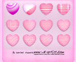 Pink photoshop layer styles 6