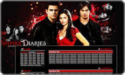 Vampire Diaries Coded Layout by vintagevic