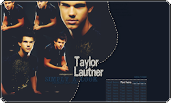 Taylor Lautner Coded Layout by vintagevic
