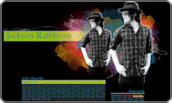 Jackson Rathbone Coded Layout by vintagevic