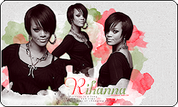 Rihanna Coded Layout by vintagevic