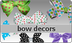 Bow Decors by vintagevic