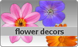 Flower Decors by vintagevic