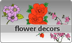 Flowers Decors by vintagevic