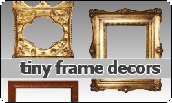 Tiny Frames Decors by vintagevic