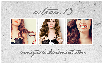 Action 13 by vintagevic