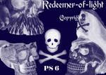 Skull Brushes For PS 6