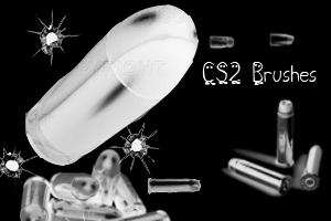 Bullet Brushes CS2 by NajlaQamber
