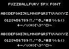 FuzzballFury 5px font