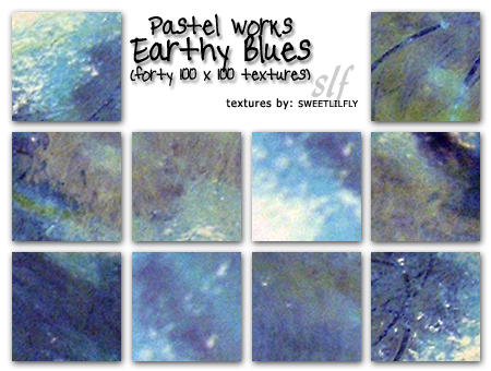 TEXTURES Pastel: Earthy Blues by sweetlilfly
