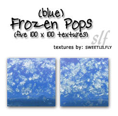 TEXTURES Frozen Pops by sweetlilfly