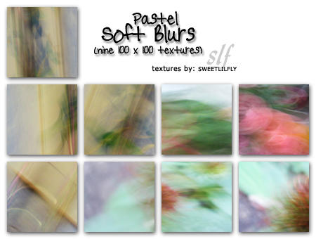 TEXTURES Soft Blurs by sweetlilfly