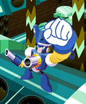 Mega Man 10 PUMP MAN loop