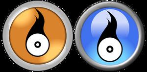 Roxio Easy Media Creator Icons by stumpy666davies