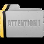 Attention! Folder