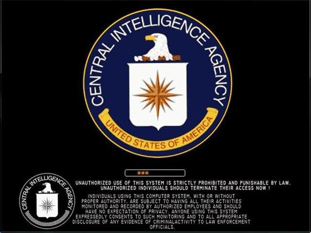 CIA Warning by donkolondoy