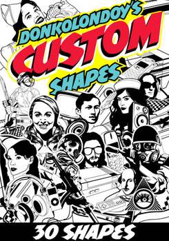 Free 30 Custom Shapes