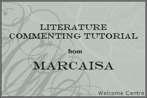 Literature Commenting Tutorial by welcomecentre