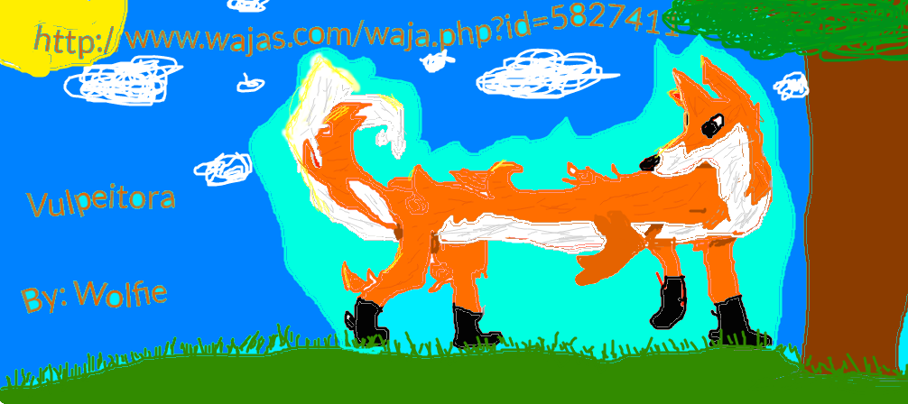 Fox Waja From The Game Wajas By Wolfieimagine On Deviantart For example, the wiki aims to have guides with information on all of the. deviantart