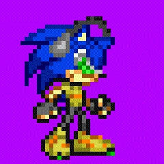Jet Set Sonic Project M Sprite (.gif)