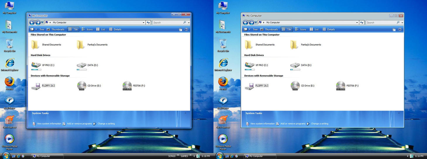 BLUE AERO VS for XP: UPDATED by pankaj981