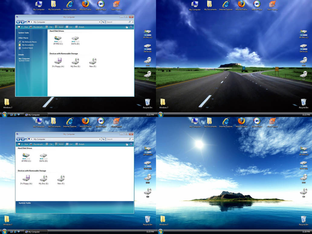 Windows 7 Inspirat by pankaj981