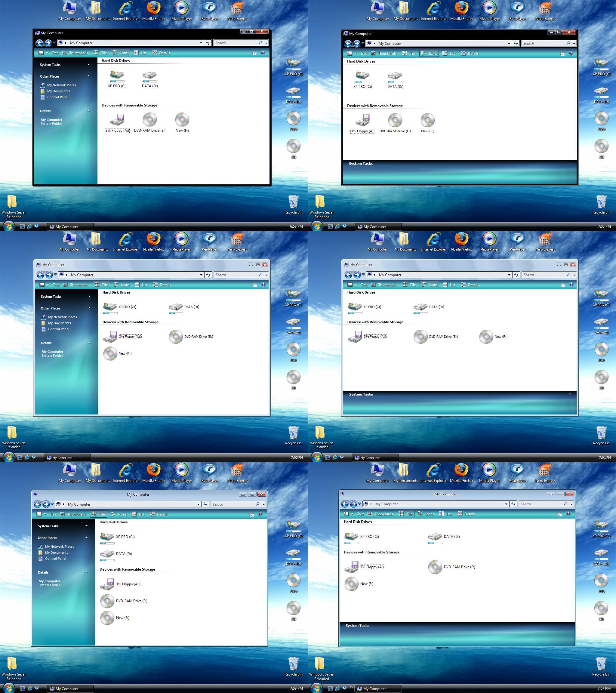 Windows Seven M1 Reloaded by pankaj981