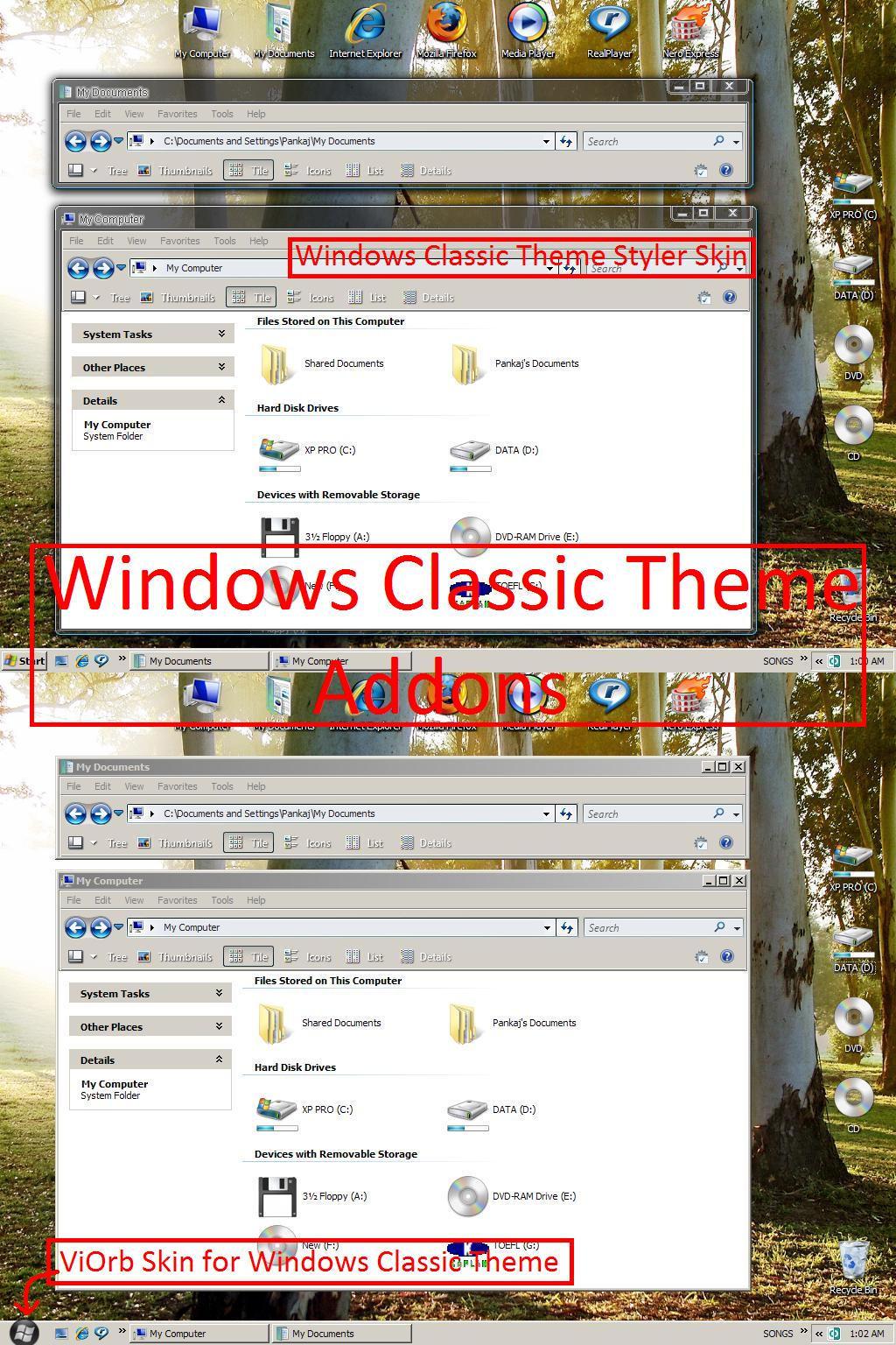 Windows Classic Addons by pankaj981