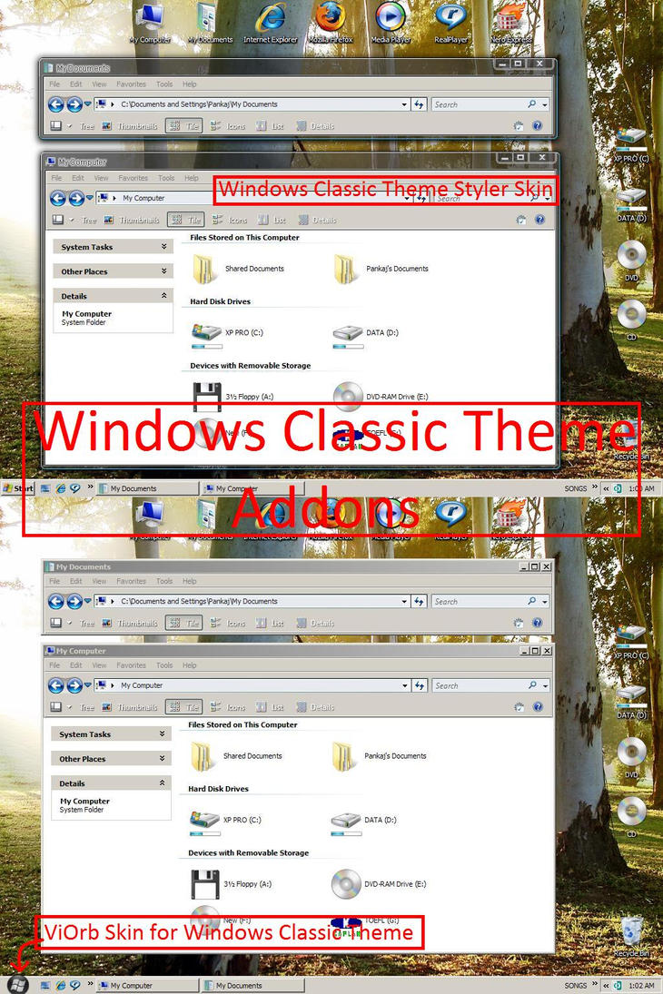 Windows Classic Addons by pankaj981