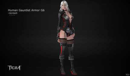 TERA Human Gauntlet Armor G6 revised by RonDoe