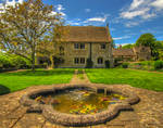Great Charfield House And Gardens 3- Stock
