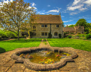 Great Charfield House And Gardens 3- Stock by supersnappz16