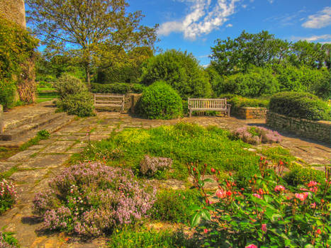 Great Charfield House And Gardens 7 Stock