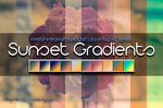 10 Sunset Gradients