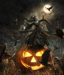 Hallow-ing Death / step by step GIF