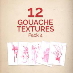 12 Gouache textures pack 4 by Iskander1989